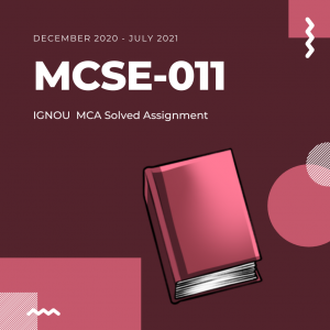 mcse 11 ignou solved assignment